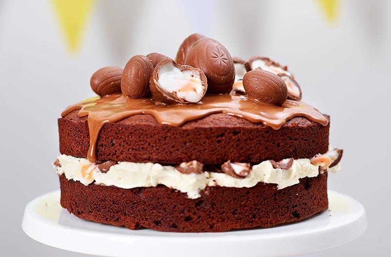 نحوه پخت کیک خانگی قسمت دوم