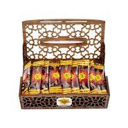 عسل جعبه چوبی تکنفره 40 عددی
