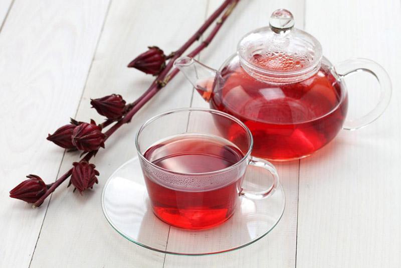 دمنوش چای ترش | معرفی انواع دمنوش انعکاس