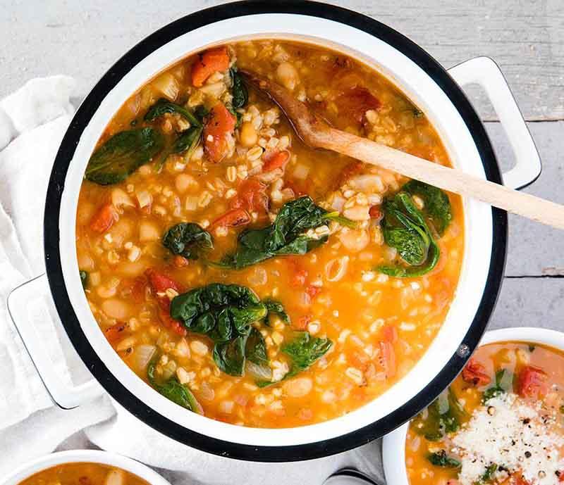 دستور پخت سوپ جو