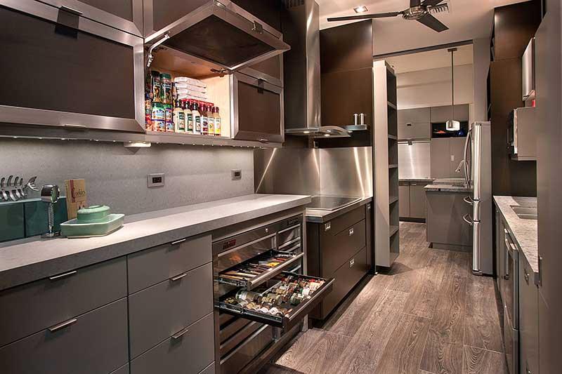 دیزاین آشپزخانه برای ادویه