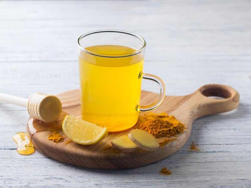 خواص چای زردچوبه